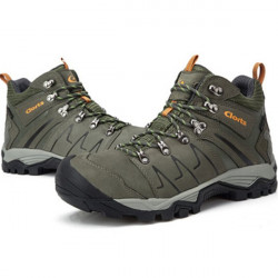 Men's Climbing Shoes PU Waterproof Breathable Hiking Boots