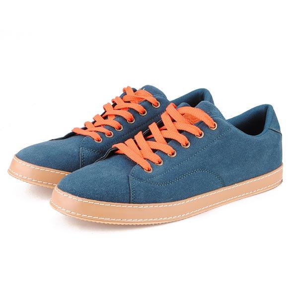 Mens reine Farbe Leinwand Freizeit Sportschuhe Herren Schuhe