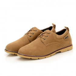 New Men Fashion Leisure Suede Leather Shoes  Men's Casual Sport Shoes