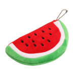 12cm Cute Fruit Watermelon Change Purse Pocket Mobile Phone Bag Women's Bags