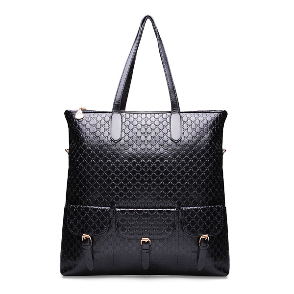 Alligator Grain Women Large Shoulder Bag Women's Bags