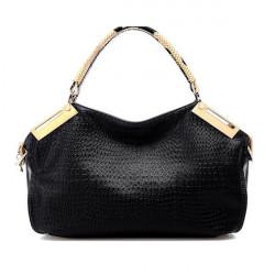 Alligator Pattern PU Women Handbag Shoulder Bag