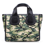 Bat Embarrassing Word Camouflage Portable Bag Women's Bags