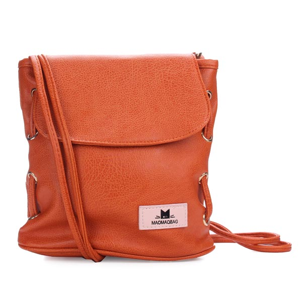 Candy Color Bucket Cross Body Bag Women's Bags