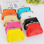 Candy Colors Girls Hasp Small Purse Wallet Women's Bags