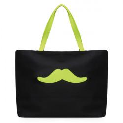 Candy Cute Cartoon Beard Canvas Handbag Shoulder Bag