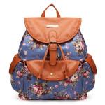 Canvas Stylish Travel Bag String Shoulder Bag Strap Backpack Women's Bags