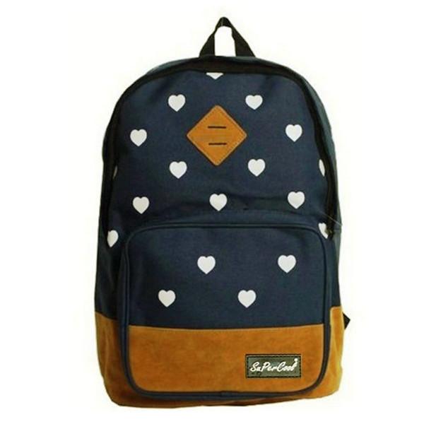 Canvas Reisetasche Schultertasche Rucksack Schule Rucksack Damentaschen für Frauen