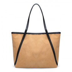Beiläufige Frauen Große Schultertasche einfacher matte Handtasche