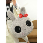 Cute Lovely Women Rabbit/Panda Pattern Handbag Plush Fur Shoulder Bag Women's Bags