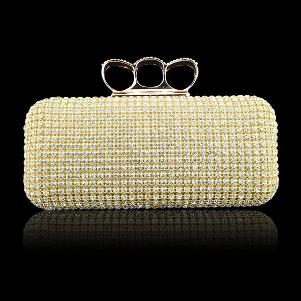 Diamant Abend Hochzeits Handtasche Damentaschen für Frauen