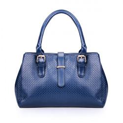 Art und Weise PU gesponnene Frauen Handtasche Schultertasche