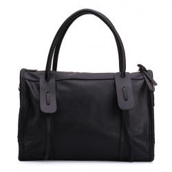 Mode Frauen schwarze Handtasche