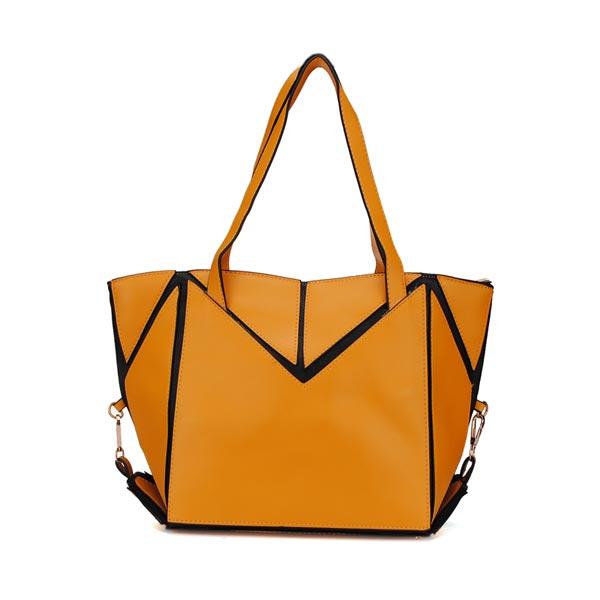 Fashion Women Candy Color Patchwork Handbag Women's Bags