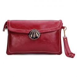 Mode Kvinnor Pu Läder Shell Väska