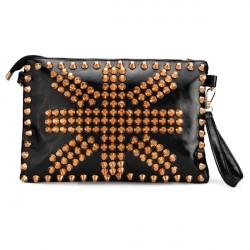 Fashion Women Punk Style Rivets Bag