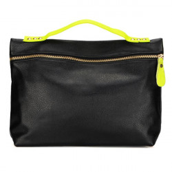 Mode Frauen Nieten schwarze Tasche