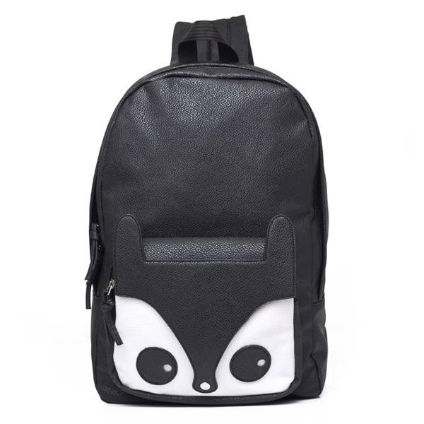 Fox Women Backpack Girls Students Schoolbag Women's Bags