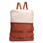 Girls Canvas Letter Print Backpack Women's Bags