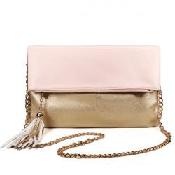 Goldene Tassel Damen Handtasche Umhängetasche