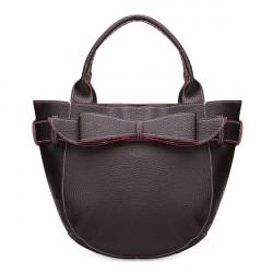 Schöne Umhängetasche Zylindrische Bogen Bonbon Dame Handtasche