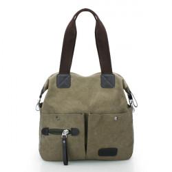 Men Women Pillow Vintage Canvas Bag Shoulder Messenger Handbag