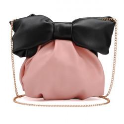 Mini Bowknot Kette Crossbody Tasche