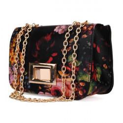 Oljemålningar Kvinnor Flower Messenger Bags