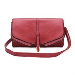 Retro Packet Single Style Double Kvinnor Handväska Messenger Bag