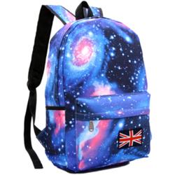 Retro Star Lovers Boys and Girls Shoulder Backpack Bag Tide Schoolbag