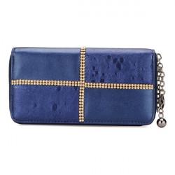 Rhinestones Women Purse Clutch Wallet