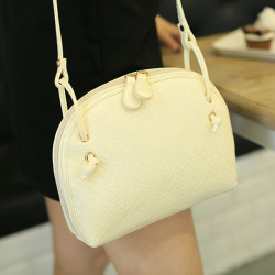 Shell Shape Candy Color Crossbody Taske