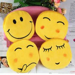 Smiley Face Mönster Plush Börs