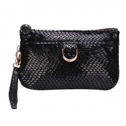 Snake Grain Women Clutch Bag