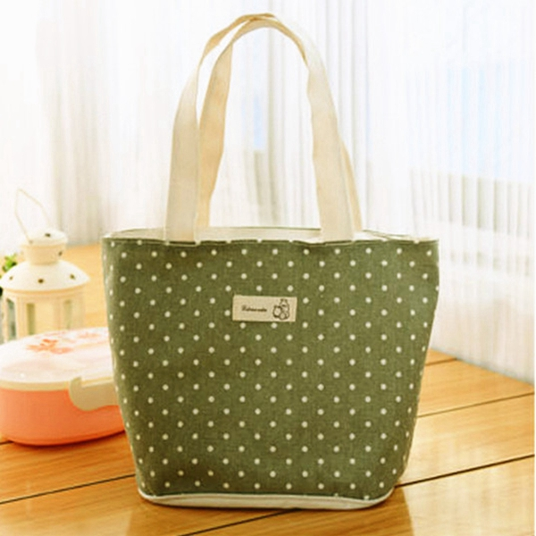 Travel Outdoor Lunch Pouch Bag Handbag Carry Storage Box Tote Pouch Women's Bags