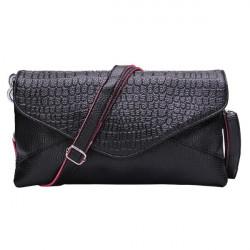 Frauen Krokodilhandtasche Handytasche