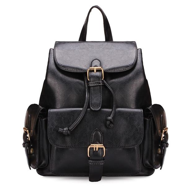 Frauen Rucksack Dame Mädchen wölbte adrette Art Rucksack Schul Damentaschen für Frauen