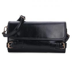 Women Belt Decorated Clutch Bags Crossbody Bags Wallets
