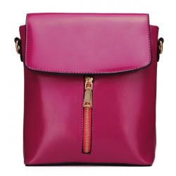 Kvinnor Bucket Bags Vintage PU Läder Axelremsväska