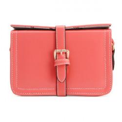 Women Candy Color Belt Cross Body Bag
