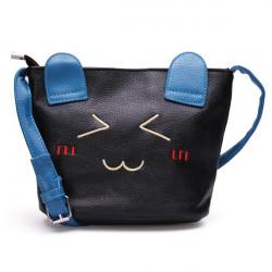 Kvinder Cartoon Cat Mønster Bucket Bag