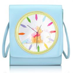 Frauen Uhr Muster Schultertaschen Umhängetaschen Nachricht Taschen