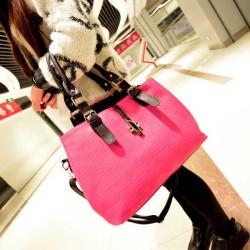 Frauen Handtasche Geprägte Schulter Messemger Bag