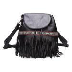 Frauen Handtaschen Kettenbecher Taschen Quasten Schultertaschen Umhängetaschen Damentaschen für Frauen