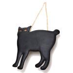 Kvinder Håndtasker Ladies Cat Clutch Taske PU Læder Kæde Skuldertaske Dametasker