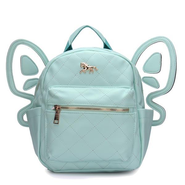 Frauen Leder Schmetterling Rucksack Umhängetasche Damentaschen für Frauen