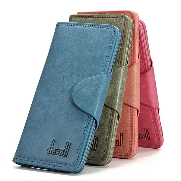 Kvinder Lang Wallet Kortholder Wallet Pung Dametasker