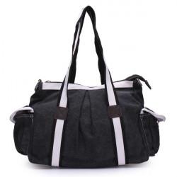 Frauen / Männer beiläufige Segeltuch Handtasche
