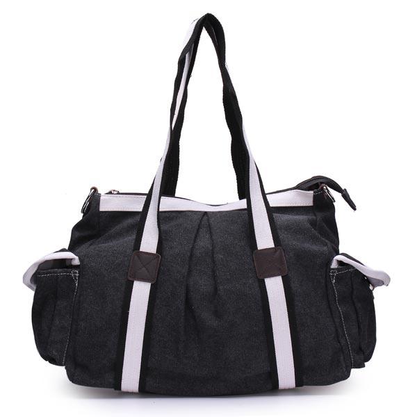 Kvinder / Mænd Casual Canvas Håndtaske Dametasker