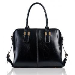 Women PU Leather Bags Vintage Totes Shell Shoulder Bag Portable Bag
